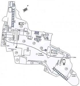 Plan de Villers-Deux-Eglises